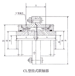 CL Gear Coupling