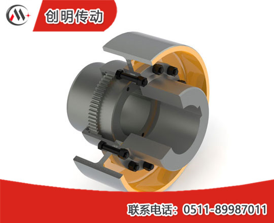 WGZ type with brake wheel drum gear coupling